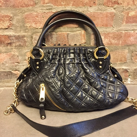 fa1965ce1b6 Marc Jacobs Bags | Cecilia Black Quilted Bag | Poshmark